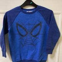 Sweater spiderman anak laki laki 5-6 tahun Ld 39 Pjg 51