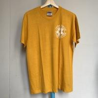 Kaos Vintage Pria Merk Hanes Warna Kuning
