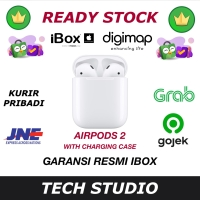 Garansi iBox Apple Airpods 2 MV7N2 Air Pods for iPhone iPad Mac - GRS APPLE INTER, Non Wireless