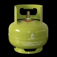 Gas Elpiji 3kg (Tabung + Isi)