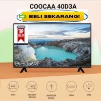 TV COOCAA 40 Inch LED Full HD Garansi Panel 3 Tahun Termurah