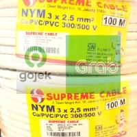 Kabel Supreme nym 3x2,5 mm 3x2.5 @ 100 meter 100m kawat