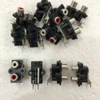 Soket RCA 2 Pin Bell Model Tidur ( Tancap PCB )