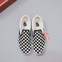 Vans Slip On Classic Checkerboard Black and White