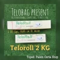 TeloRoll 30x45cm (Kaps 2KG) Kantong Ramah Lingkungan Singkong