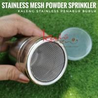 Powder Sprinkler - Penabur Bubuk Stainless Mesh - Penghias Minuman