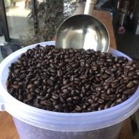 Kopi Bubuk Robusta Dark Roast Aroma Robusta Kopi Susu 250gr G2