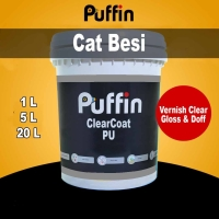 Cat Vernis Puffin PU Clear Coat Gloss / doff 20L - vernis nc