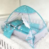 Baby nest set bayi-bantal guling bayi-kelambu bayi-kelambu bayi-tosca
