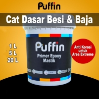 Epoxy Primer surfacer Puffin Mastik 20kg cat anti karat besi galvanis