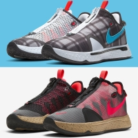 Sepatu Basket Nike PG4 PG 4 Plaid Football PCG ORIGINAL