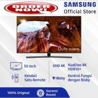 TV LED SAMSUNG 50 Inch 50RU7400 Smart TV Ultra HD 4K Garansi Reami