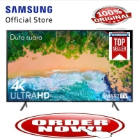 TV LED SAMSUNG 43 Inch 43NU7090 Smart TV UHD 4K Garansi Resmi