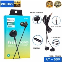 Philips Headset/Earphone At-059 for Android & I-phone (In ear Bass+)