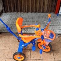 Sepeda Anak Roda Tiga Dorongan Stir PMB 923