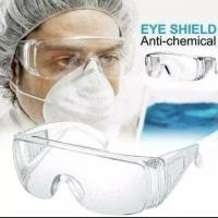 Kacamata Goggles Safety Goggle Pelindung Mata anti virus original