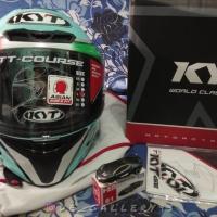 KYT TT Course Dalla Porta Leopard Brand New