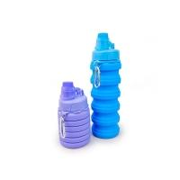 Botol Minum Lipat Silikon Portable Silicone Foldable B