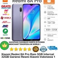 Xiaomi Redmi 8A PRO 3GB/32GB 8Apro 8 a 3/32GB 3/32-Garansi-Resmi-Gray