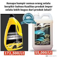 PREMIUM 5L Car Shampoo/Shampoo Mobil with CARNAUBA WAX & Conditioner