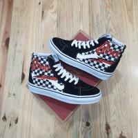 Sepatu Vans Sk8 Hi David Bowie Checkerboard Ziggy Premium BNIB