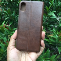 Leather Flip Case HDD iPhone Xs Max Second