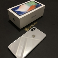 Iphone x 64gb silver zpa mulus 💯 %