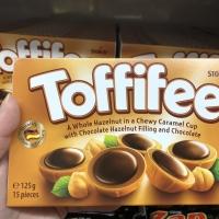 Coklat Toffifee caramel 15 pcs chocolate tofife tofiffee tofifee