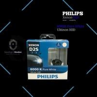 Philips HID Xenon D2S 6000K Pure White