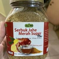 Serbuk jahe merah super plus jahe rd 300 gram