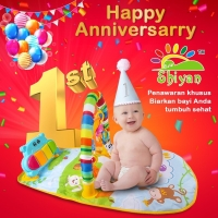 [Shiyan] baby gym musical set musik bayi playmat matra