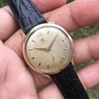 Jam omega subsecond antik original bukan rolex seiko mido commander
