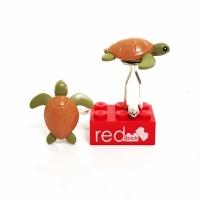 LEGO Turtle Cufflinks atau Manset
