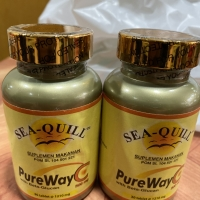 Pure way c with beta glucan 500mg 30 tablet sea quill / pureway c
