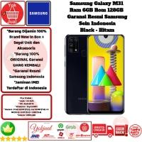 Samsung Galaxy M31 6GB/128GB 6/128GB M 31 6/128 GB Resmi Sein-Black