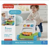 Fisher-Price Busy Baby Activity Walker- Mainan Anak Bayi Belajar jalan
