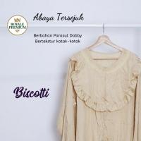Mukena Abaya Parasut Royale Premium Biscotti