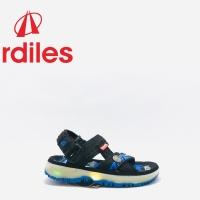Sandal Lampu Ardiles ARAKNIDA Hitam Biru Original product