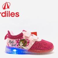Sepatu Lampu Ardiles LENATA Fusia T Merah M Original product