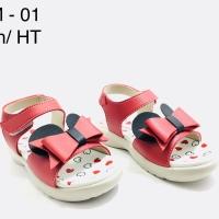 Sandal Baby Anabella YM 01 Merah original Product