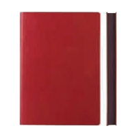 Notebook Signature Grid : Red A5