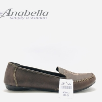 Sepatu pantofel Anabella GM 01 Coklat Original product