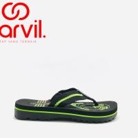 Sandal Jepit Carvil Davin Black original product