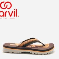 Sandal Jepit Carvil FISHER Brown Original product