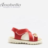 Sandal Baby Anabella Ban 01 Merah original product
