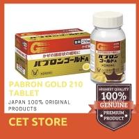 Pabron Gold isi 210 Tablet, Obat Flu, Demam, Tenggorokan Japan.