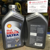 Shell Helix Ultra 5w-40 fullsynthetic 1 liter original asli 100%