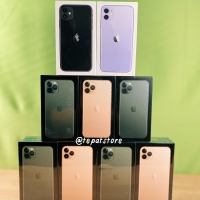 IPHONE 11 PRO MAX 256gb NEW RESMI REGIONAL INDONESIA