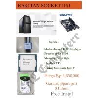 PC RAKITAN MURAH i3 6100 SOCKET 1151