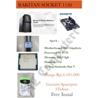 PC RAKITAN MURAH I7 4770 SOCKET 1150
